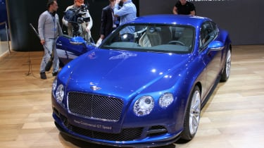 Bentley Continental GT Speed front