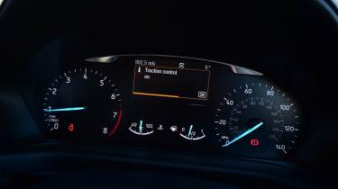 Ford Fiesta Vignale dash dials
