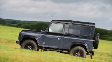 Land Rover Defender Autobiography - side