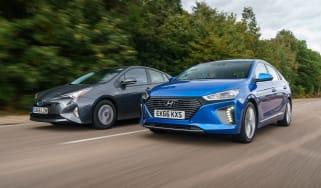Hyundai Ioniq vs Toyota Prius - header