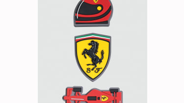 Set of Ferrari Fridge Magnets