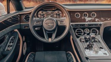 Bentley Continental GT Speed Convertible - dash