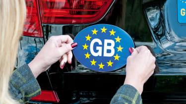 GB sticker