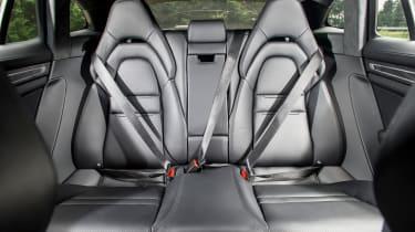 Porsche Panamera Sport Turismo 2017 review - rear seats