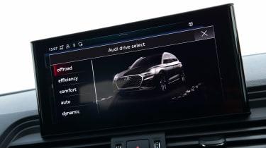 Audi Q5 40 TDI - infotainment