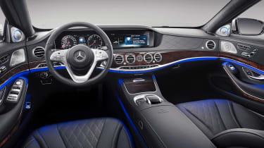 Mercedes-Maybach S-Class dash