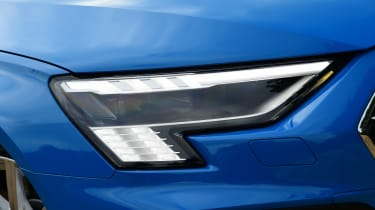 Audi S3 long termer - first report front light