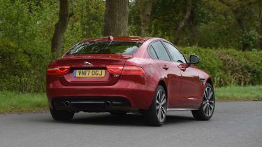 Jaguar XE S - rear action
