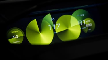 Peugeot Instinct concept - dials