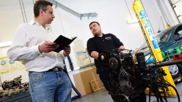 Hugo Griffiths does automotive college