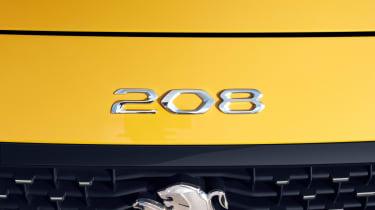 Peugeot 208 - 208 badge