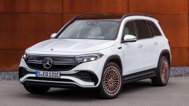 Mercedes EQB - front/side
