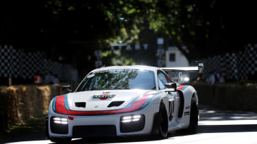 Porsche 935 - Goodwood run 2019