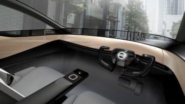 Nissan IMx concept - dash