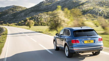 Bentley Bentayga rear - Footballers' cars