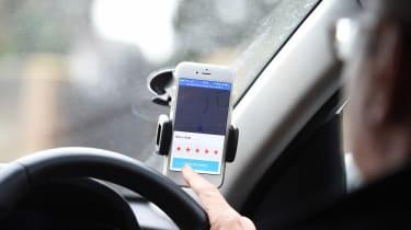 Uber driver - phone