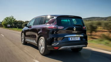Renault Espace - rear tracking