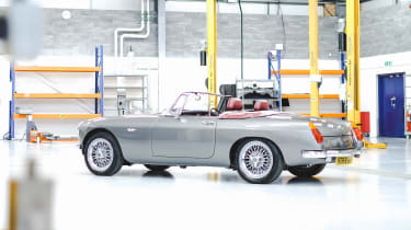 Electric MGB - rear