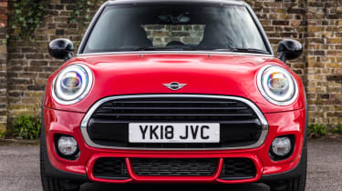 MINI Cooper 5 door 2018 red front end