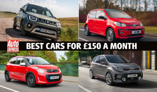 Best new cars for under £150 a month - header