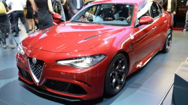 Alfa Romeo Giulia - red front