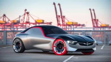 Vauxhall GT Concept - front quarter