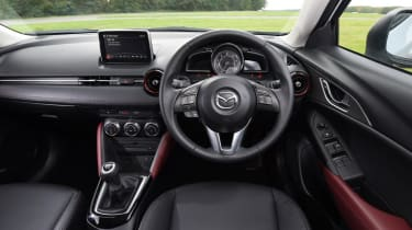 Used Mazda CX-3 - dash