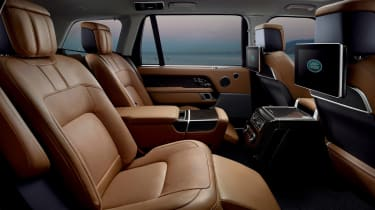 Range Rover review - rear seats