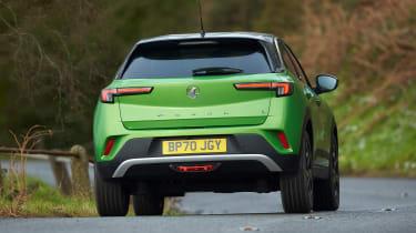 Vauxhall Mokka-e - rear action