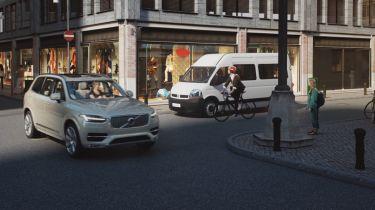 Volvo wearable bike safety tech