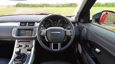Range Rover Evoque SE Tech 2016 - interior