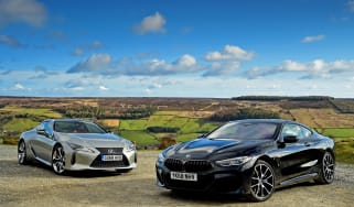 BMW 8 Series vs Lexus LC