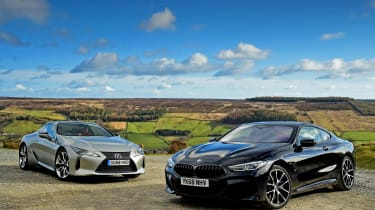 BMW 8 Series vs Lexus LC