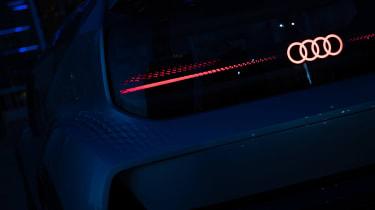 Audi AI:ME concept - rear detail