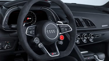 Audi TT RS and Audi R8 performance parts - Audi R8 steering wheel