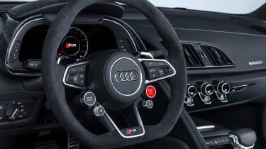 Audi TT RS and Audi R8 performance parts - Audi R8 steering wheel