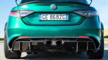 Alfa Romeo Giulia GTAm - rear detail