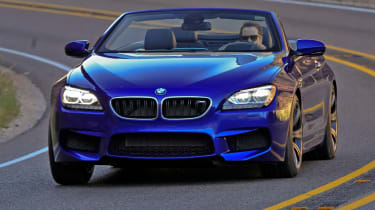 BMW M6 Convertible front cornering