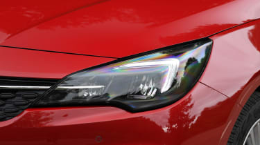Vauxhall Astra - headlight