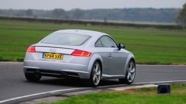 Audi TT - rear cornering
