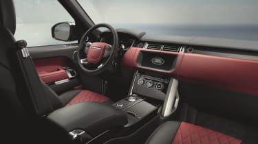 Range Rover interior - Footballers' cars