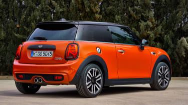 MINI Hatch - rear static