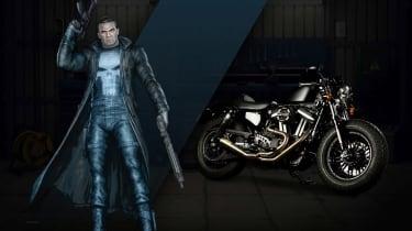 Harley Davidson Marvel Super Hero Customs - The Punisher Justice