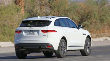 Jaguar F-Pace mild hybrid spy shot