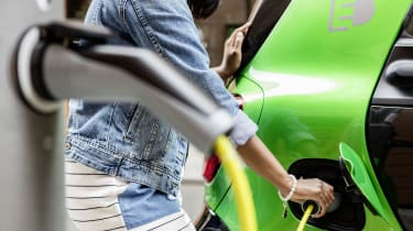 Smart ForTwo Electric Drive plug in