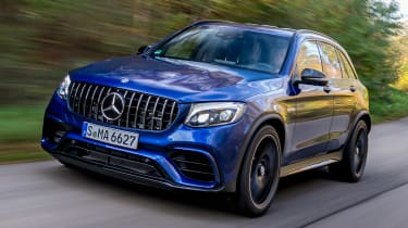 Mercedes AMG GLC 63 S - front