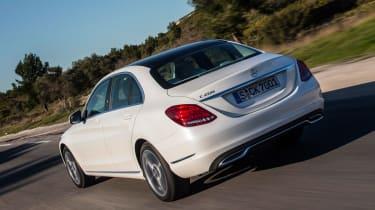 Mercedes C200 BlueTec rear