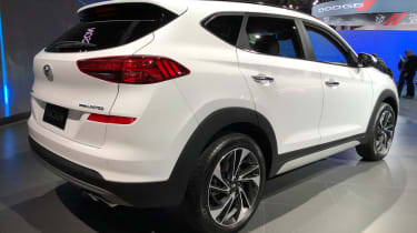 Hyundai Tucson - New York rear