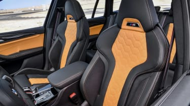 BMW X3 M Competition - seats