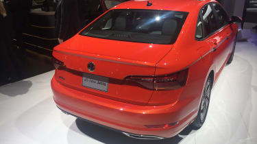 VW Jetta revealed - rear